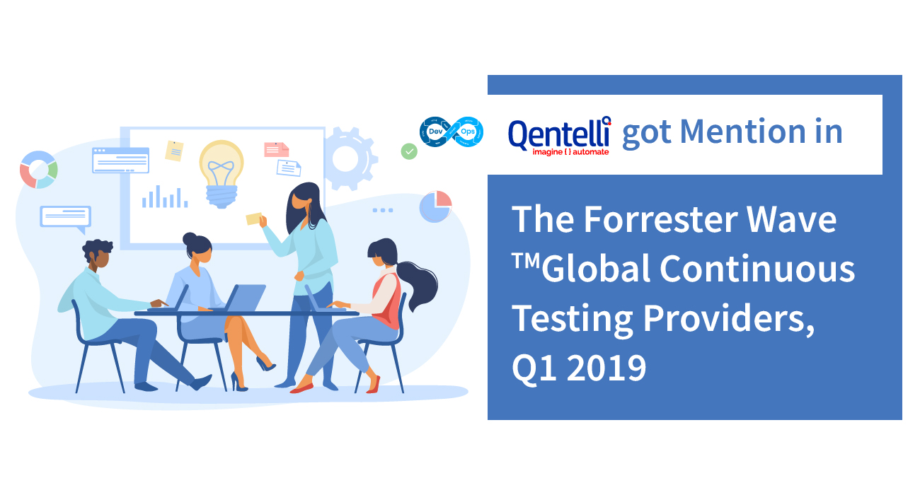 Qentelli Received Mention in the Forrester Wave™ Report