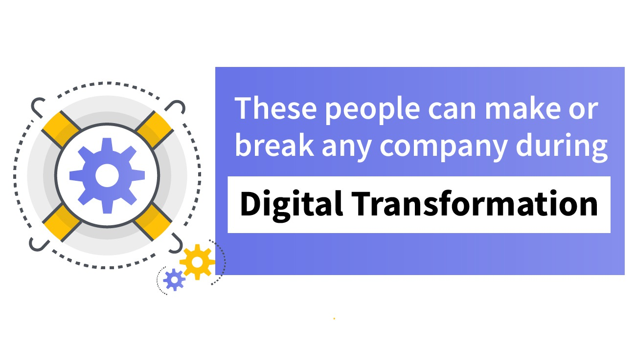 People Can Make or Break Company During Digital Transformation