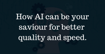 AI can be your Savior